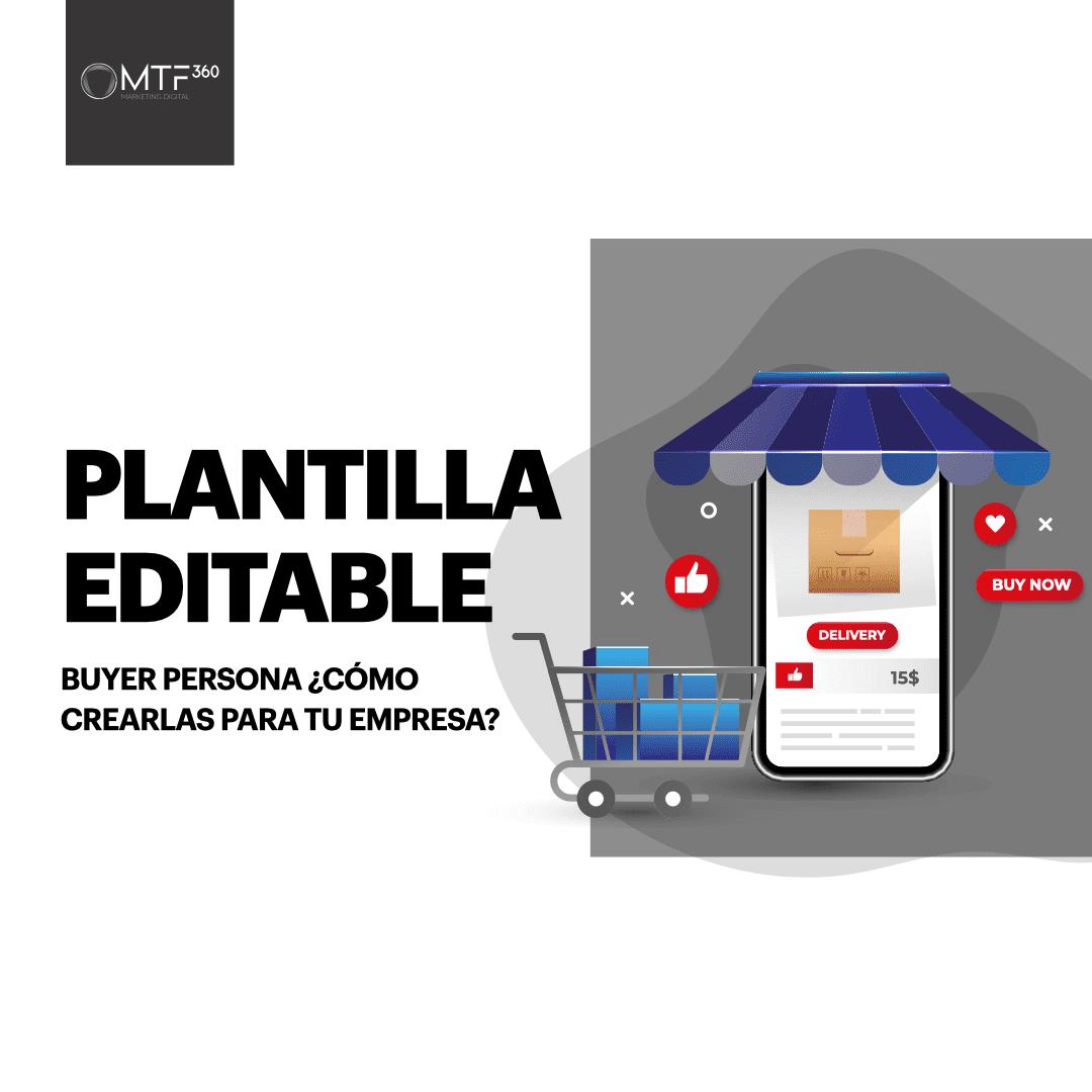 Plantilla Editable Buyer Persona